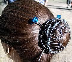 flower hair bun majestic hair flower wonderment gardens