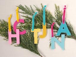 benzie a fanfare of felt monogram christmas ornaments