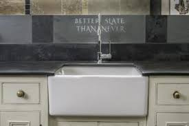 Belfast Sink In Bathroom Slate Draining Boards And Surrounds For Belfast And Modern Sinks
