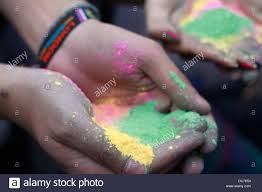 hands palm hand color nails wrist powder paint hold have air