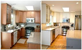 painting wood kitchen cabinets painting wooden kitchen cabinets before and after www