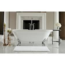 Jetted Whirlpool Drop In Bathtubs Bathtubs The Home Depot Heated Clawfoot Tub Jacuzzi Era Double Ended Bathtub Bathtubs