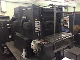 presses sheetfed 2 color used printing machines on resale info