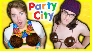 happy halloween party city party city haul with drew monson youtube