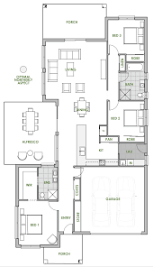 house plan the daintree home design is modern practical and