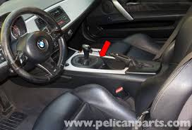 bmw z4m center console replacement e85 2003 2008 pelican