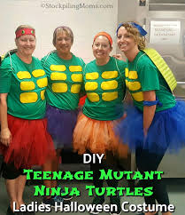 Ninja Turtle Halloween Costume Girls Diy Teenage Mutant Ninja Turtles Ladies Halloween Costume