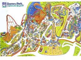 dorney park i spent so much time here throughout my mostly