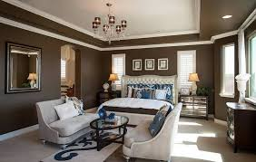 Home Layout Master Design Master Bedroom Layout With Sitting Area And Brown Walls With White