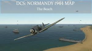 Normandy Map Dcs Normandy 1944 Map The Beach Youtube