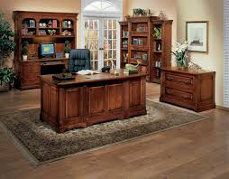 Wood Home Office Furniture Modern Rustic Office Furniture Fabrizio Design Decorating