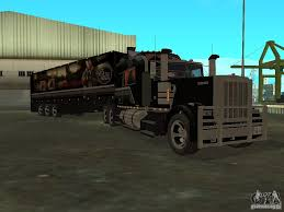 kenworth w900 for sa custom kenworth w900 custom trailer for gta san andreas