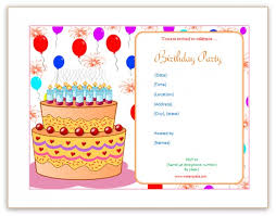 microsoft office templates invitations powerpoint birthday
