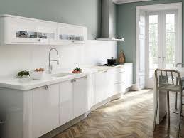 kitchen design small contemporary single wall kitchen small