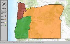 map of oregon house oregon s congressional districts