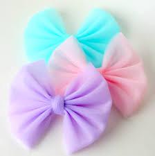 tulle hair bows big hair bows baby hair bows big tulle hair bow pink