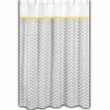 yellow fabric shower curtain foter