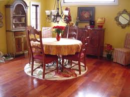travertine dining table and chairs flooring elegant dining room design with cozy interceramic tile
