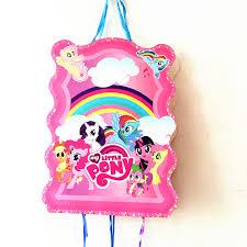 my pony pinata 1set lot pony pinata kids birthday party favors