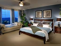brown and blue bedrooms home design ideas