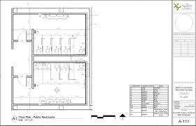 Floor Plans For Handicap Accessible Homes Handicap Bathroom Clearances This Single User Restroom Has Been