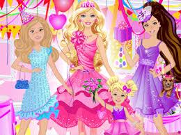 happy birthday barbie cute games