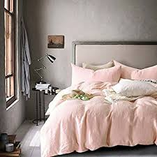 amazon com rose gold duvet cover luxury bedding set high thread