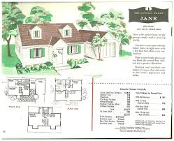 cape cod house floor plans cape cod house plans 1950s america style best floor 1950