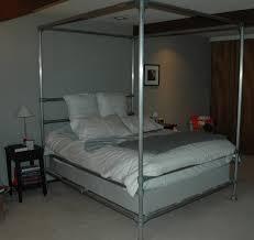 homemade beds aluminum pipe bed idolza homemade beds aluminum pipe bed diy headboards easy underground parking garage design studio