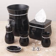 White Bathroom Accessories Ceramic by Bling Bathroom Accessories Sets Diamante Bling White Ceramic
