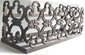 Wrought Iron Wall Planters by Wrought Iron Planters Home Design Styles