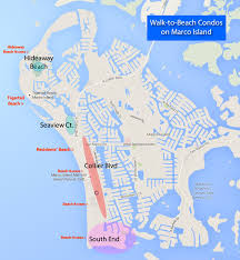 marco island florida map marco island walk to the condos to