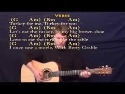adam sandler thanksgiving song tabs free mp3