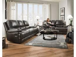 corinthian brooklyn charcoal brooklyn charcoal leather reclining corinthian brooklyn charcoal 42801 30 brooklyn charcoal leather reclining sofa