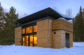 a small prefab house the e d g e experimental dwelling for a