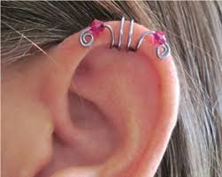 cartilage cuff earrings 112 best cartilage earrings images on jewelry