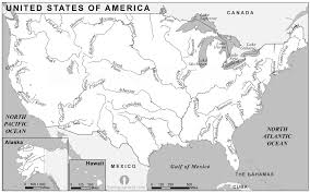 united states map black and white usa rivers map black and white rivers map of usa black and white