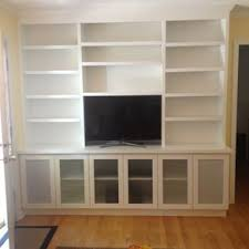 Free Built In Bookcase Woodworking Plans by Custom Built Wall Units U0026 Custom Made Built In Tv Wall Units