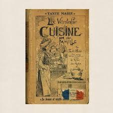 cuisine de famille tante la veritable cuisine de famille language cookbook