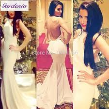white cute mother and daughter prom dresses backless long elegant