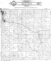 Michigan Township Map by Missaukee County