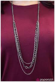 accessories chain necklace images Paparazzi accessories top of the chain black jpg