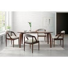 zuo jefferson light gray dining chair 100723 the home depot