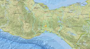 Us Geological Earthquake Map 6 1 Magnitude Earthquake Strikes Mexican State Of Oaxaca Swaying
