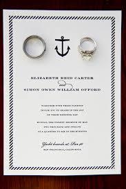 nautical wedding invitations nautical wedding in san francisco by melanie duerkopp photography