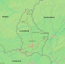 map of germany and surrounding countries with cities luxembourg familypedia fandom powered by wikia