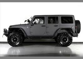jeep wrangler grey custom 2014 jeep wrangler unlimited in silver kevlar exterior