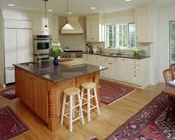 decoration ideas cozy dark brown wooden kitchen island in