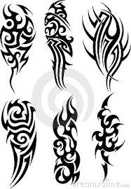beautiful mode tattoos tribal flash