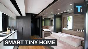 a smart house is packed into this transforming tiny home youtube a smart house is packed into this transforming tiny home